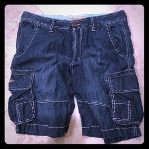 TRUE RELIGION men's cargo shorts size 36